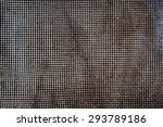 fine white vintage metal mesh ... | Shutterstock . vector #293789186