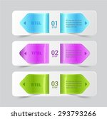 tag leather glassy banner. | Shutterstock .eps vector #293793266
