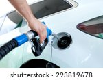gasoline  gas station  fossil... | Shutterstock . vector #293819678
