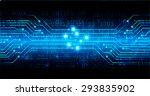 dark blue color light abstract... | Shutterstock .eps vector #293835902