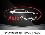 auto company logo vector design ... | Shutterstock .eps vector #293847602