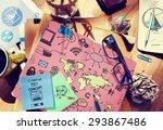 global community start up... | Shutterstock . vector #293867486