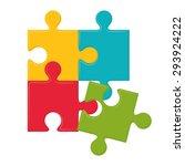 business solutions design ... | Shutterstock .eps vector #293924222