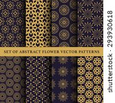 set of abstract symbol vector... | Shutterstock .eps vector #293930618