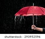 red umbrella | Shutterstock . vector #293952596