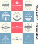 vector collection of... | Shutterstock .eps vector #293955902