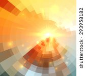 abstract vector circle... | Shutterstock .eps vector #293958182