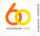 60 years old celebrating...   Shutterstock .eps vector #293966156