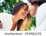 Cheerful Romantic Couple...