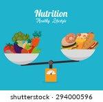 food design  vector... | Shutterstock .eps vector #294000596