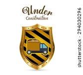 under construction digital... | Shutterstock .eps vector #294030296