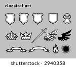 classical art   Shutterstock .eps vector #2940358