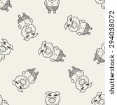 three little pigs doodle... | Shutterstock . vector #294038072