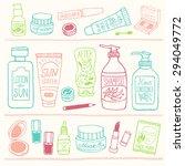 hand drawn vector illustration... | Shutterstock .eps vector #294049772