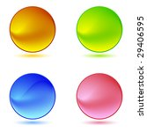 color ring buttons | Shutterstock .eps vector #29406595