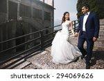 stylish romantic love full... | Shutterstock . vector #294069626