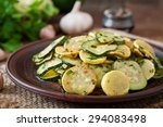 Warm Salad With Young Zucchini...