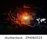 stock market chart   | Shutterstock . vector #294083525