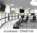 a network operations center or...   Shutterstock . vector #294087938