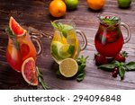 different types of fresh... | Shutterstock . vector #294096848