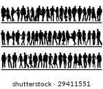 people | Shutterstock .eps vector #29411551