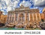 Fontana Di Trevi  Trevi...
