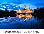 Stock photo german landmark building in hanover 294144782