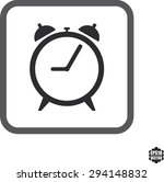 clock icons on white background....