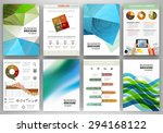 abstract vector backgrounds and ... | Shutterstock .eps vector #294168122