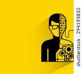 artificial intelligence ... | Shutterstock .eps vector #294193832