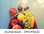 Various Fresh Ripe Fruits...