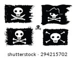 pirate   set of pirate flags...