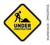 under construction website and... | Shutterstock .eps vector #294224516