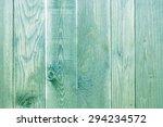 Green Paint Wood Texture.
