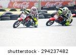 marbella   jul 5  kids riding... | Shutterstock . vector #294237482