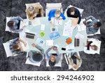 meeting communication planning... | Shutterstock . vector #294246902