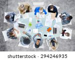 meeting communication planning... | Shutterstock . vector #294246935