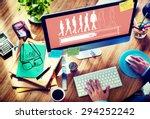 waiting loading uploading...   Shutterstock . vector #294252242