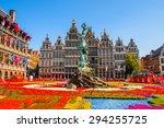 antewerp  belgium   jun 5  2015 ... | Shutterstock . vector #294255725