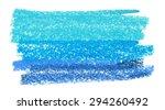 Chalk Pastels  Blue Vector...