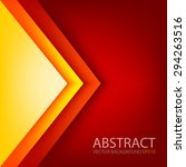 Red Triangle Background Vector...