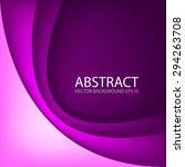 purple background vector...   Shutterstock .eps vector #294263708