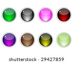 shiny web buttons different...   Shutterstock .eps vector #29427859