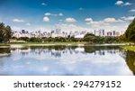 sao paulo skyline from... | Shutterstock . vector #294279152