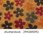 Colorful Floral Pattern Of A...