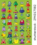 doodle icons illustration... | Shutterstock .eps vector #294317582
