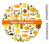 modern vector background in... | Shutterstock .eps vector #294339992