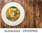 soup  chicken  noodles. | Shutterstock . vector #294359402
