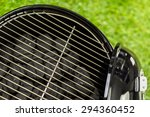 small round charcoal grill... | Shutterstock . vector #294360452