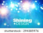 light   color design. vector... | Shutterstock .eps vector #294385976